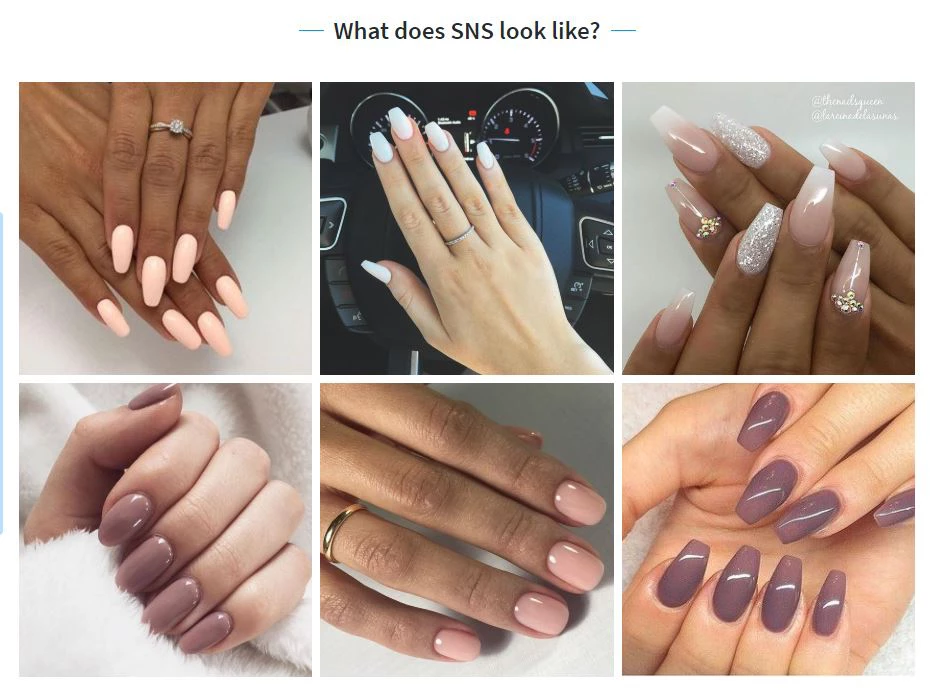 What exactly are SNS nails? Alexandra Hourigan